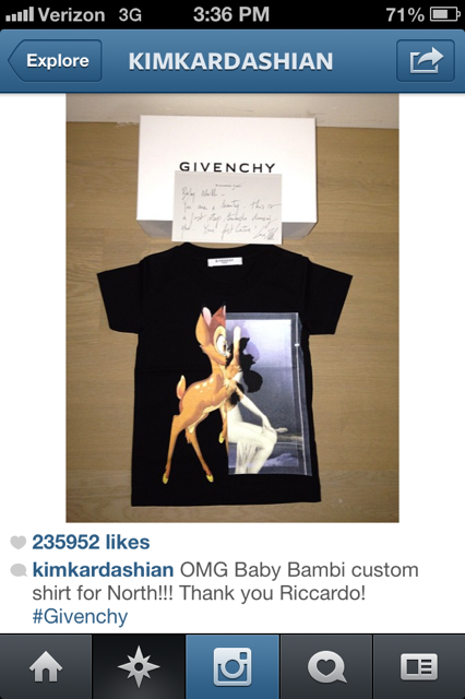 Givenchy for North