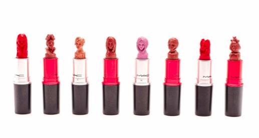 lipstick scultpure