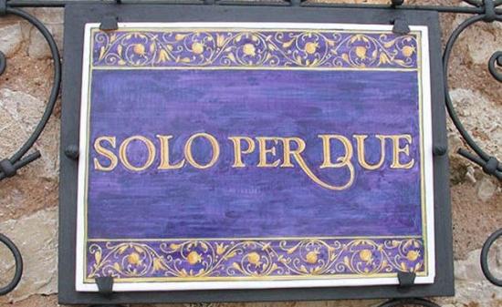 Solo Per Due, Italy