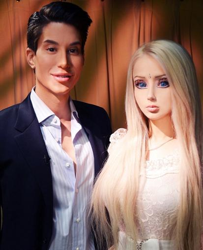 real life barbie and ken crossdressing feud