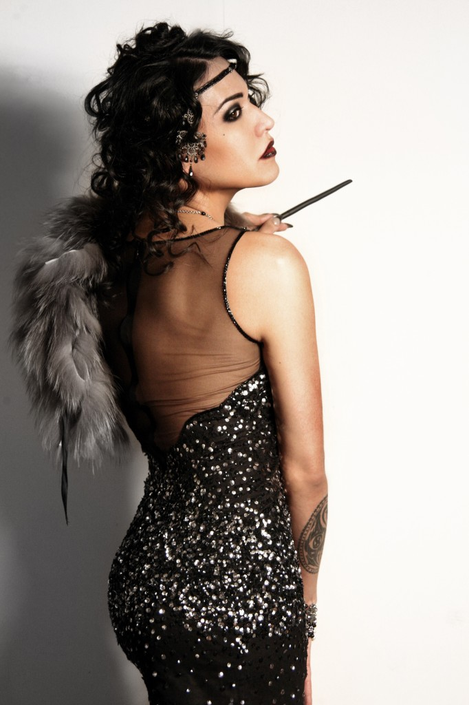 Nadia E, transgender model, the midnight grindshow