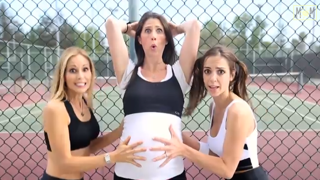 I'm so pregnant parody