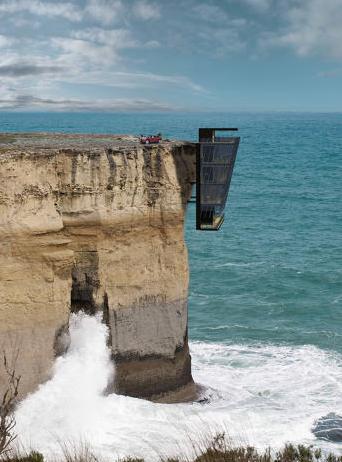 modular cliff house