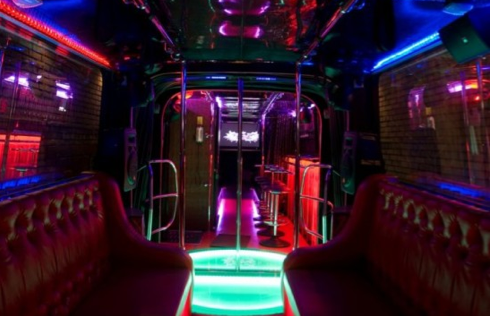 nightclub on wheels