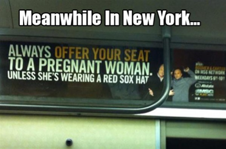 funny signs new york