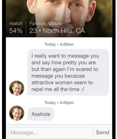 rejected men online