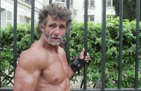 homeless bodybuilder