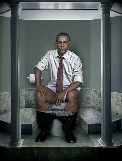 world leaders pooping