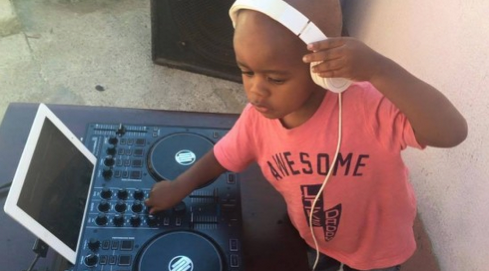2 year old dj