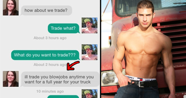 blowjob exchange for truck