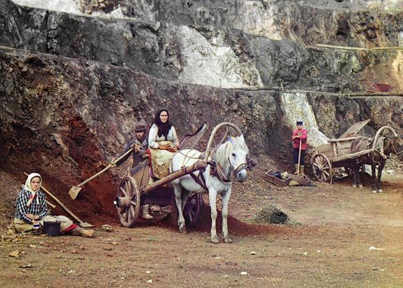 vintage color russian photos