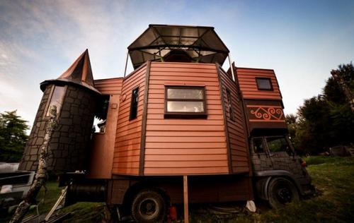 mobile home fantasy castle