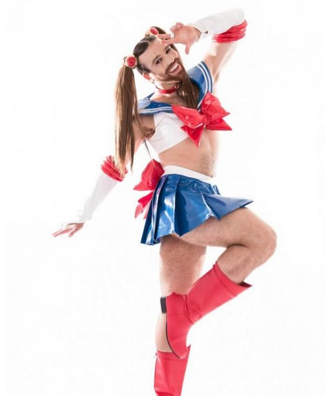 Ladybeard The Most Famous Crossdresser In Japan The