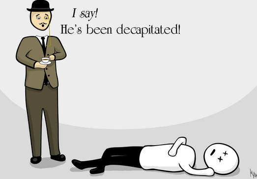 beheading funny