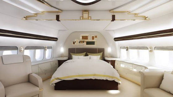Boeing private jet