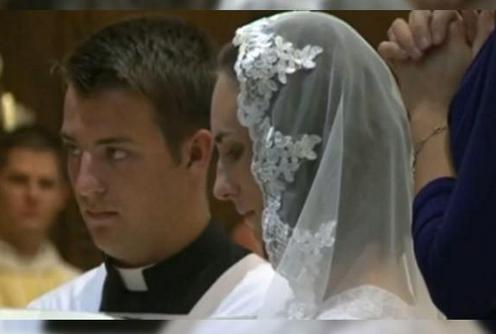 woman marries jesus