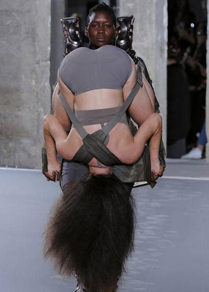 human model backpacks