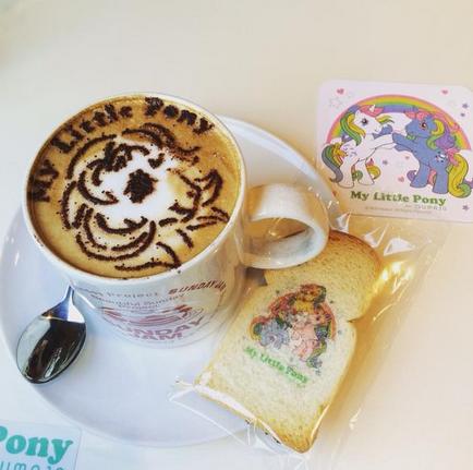 my little pony cafe