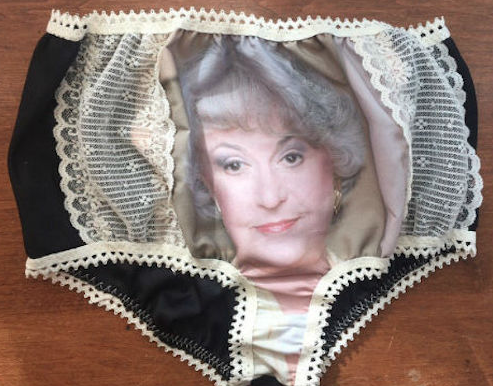 golden girl granny panties