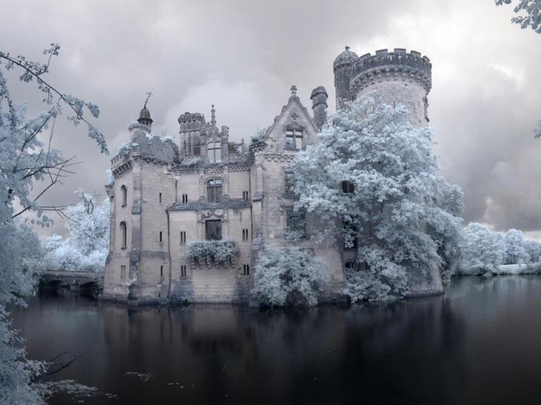abandoned fairy tale castle