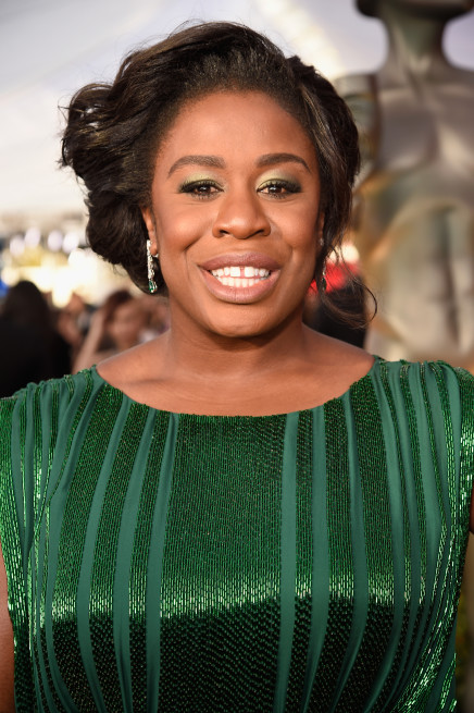 LOS ANGELES, CA - JANUARY 30: Uzo Aduba attends The 22nd Annual Screen Actors Guild Awards at The Shrine Auditorium on January 30, 2016 in Los Angeles, California. 25650_012 (Photo by Kevin Mazur/Getty Images for Turner)