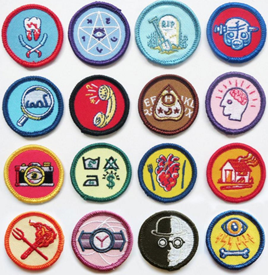 alternative merit badges