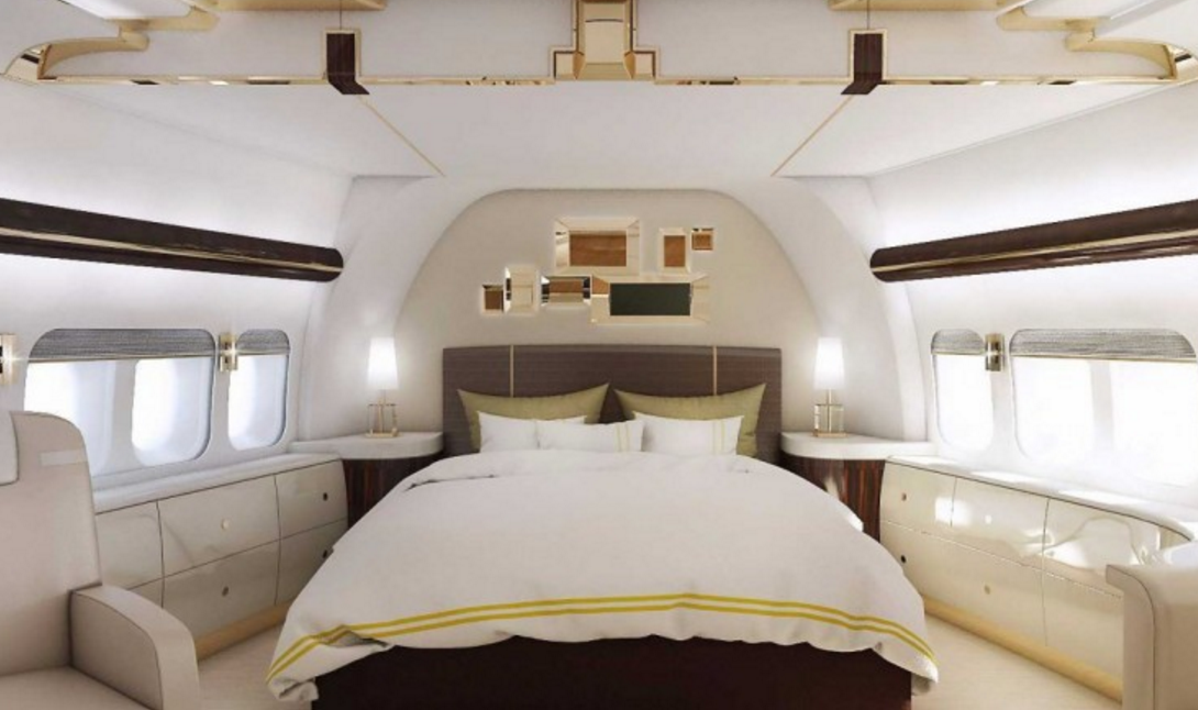 boeing 747 private plane