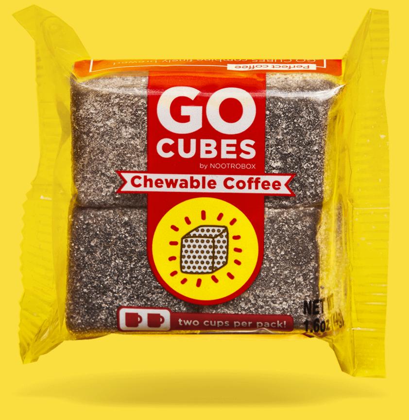 go cubes chewable caffiene