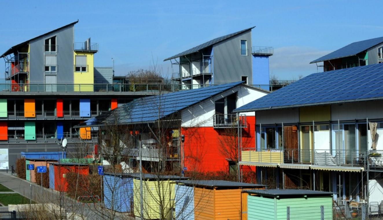 solarsiedlung solar village