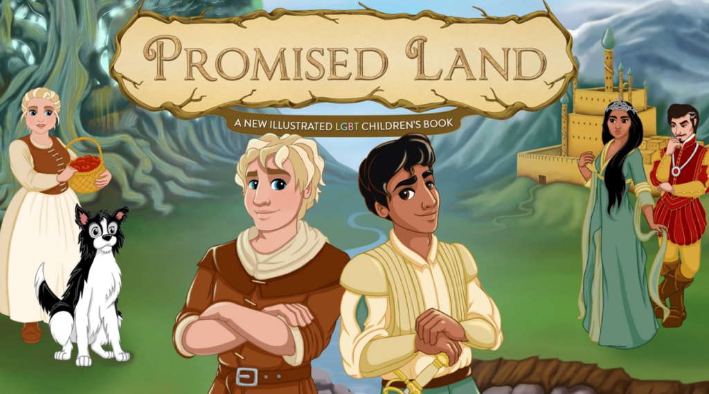 promise land gay book