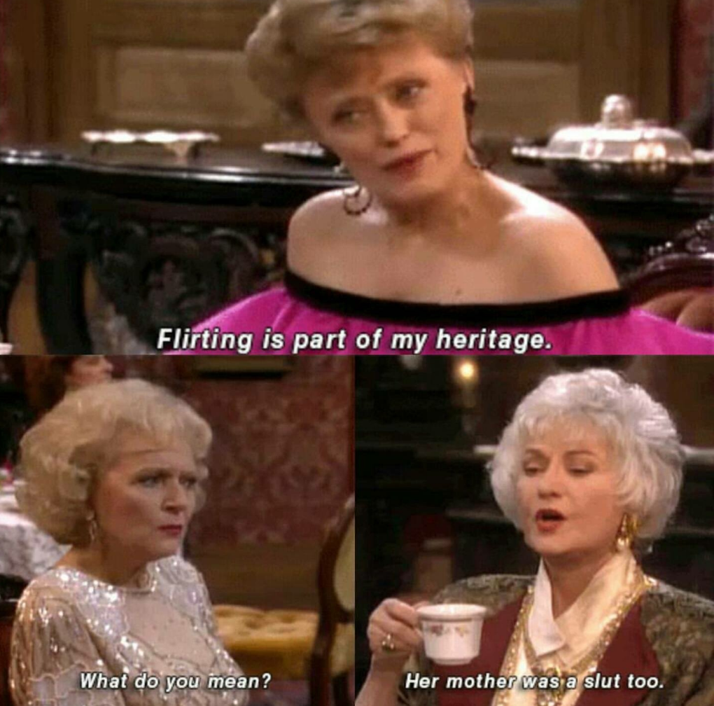 golden girls burns