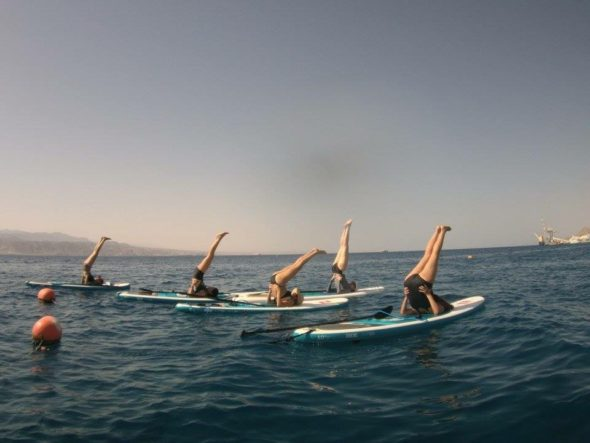 paddleboard sup yoga