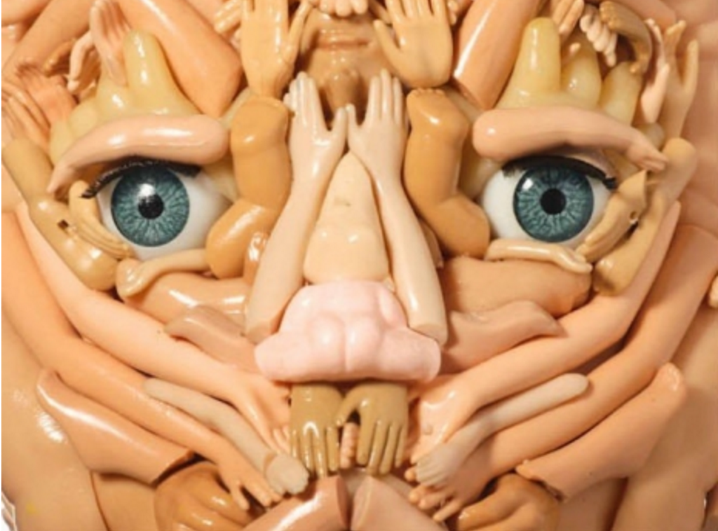 doll body part sculptures