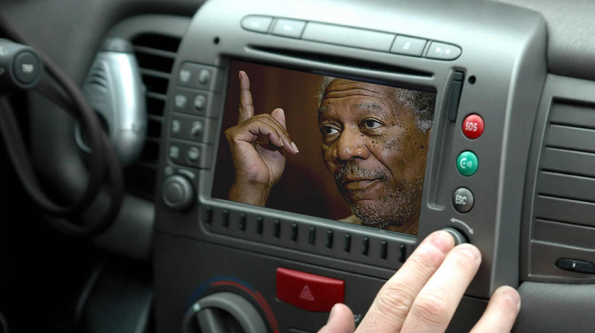 Morgan Freeman's Voice for Your GPS (finally!) | The Luxury Spot