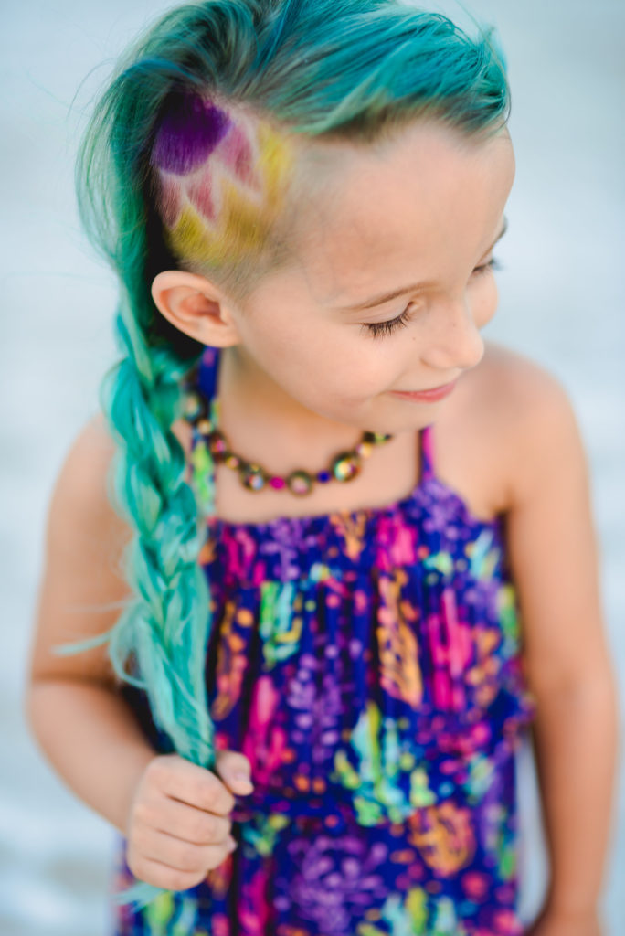 funky haircolor kids