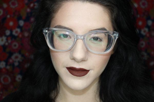 no eye makeup closeup