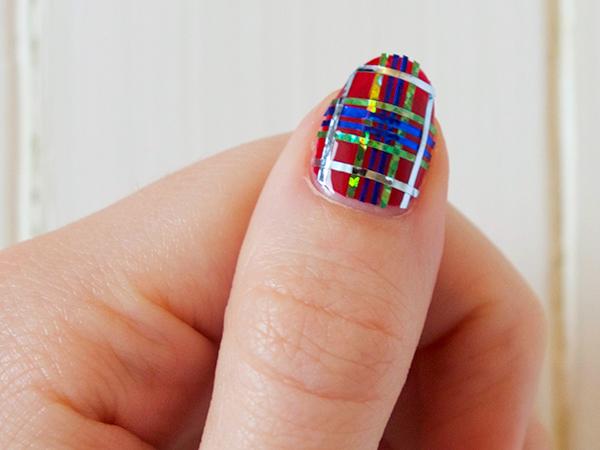 Diy Fraser Tartan Nail Art The Luxury Spot