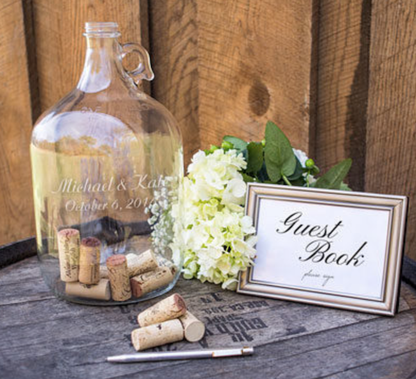Wedding Cork Guest Book: Creative Wedding Guest Book Alternatives For Your Nuptials