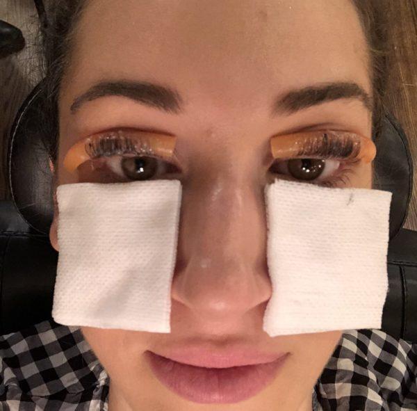 eyelash lift and tint review