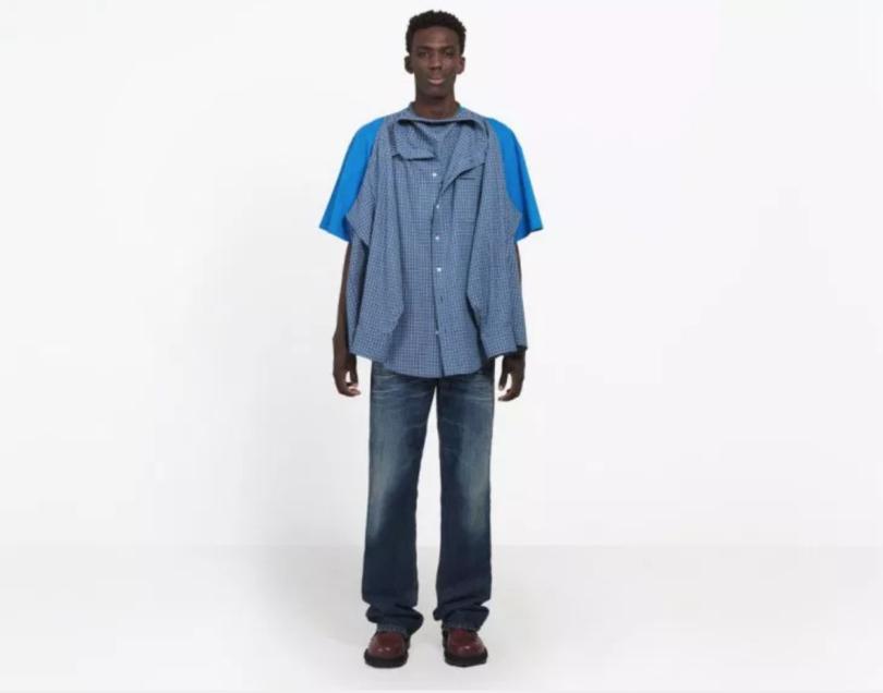 balenciaga tshirt shirt