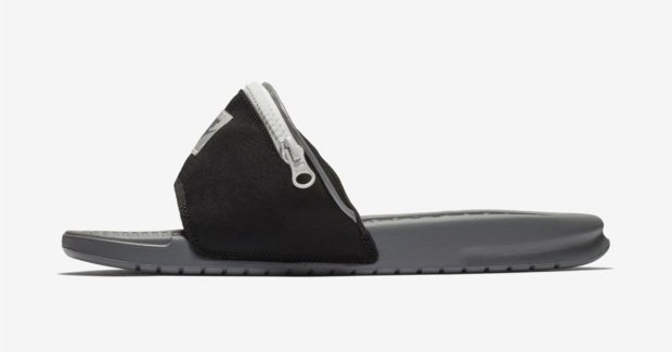 nike fanny pack sandals