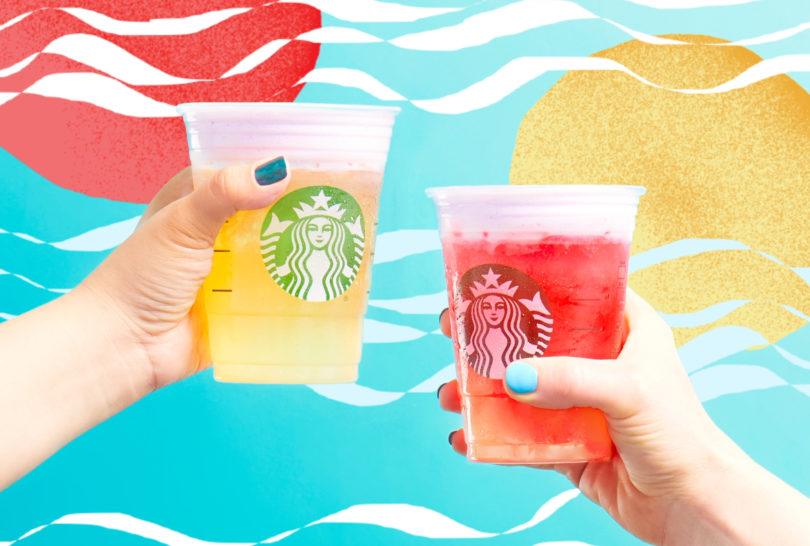 starbucks cold foam tea lemondes