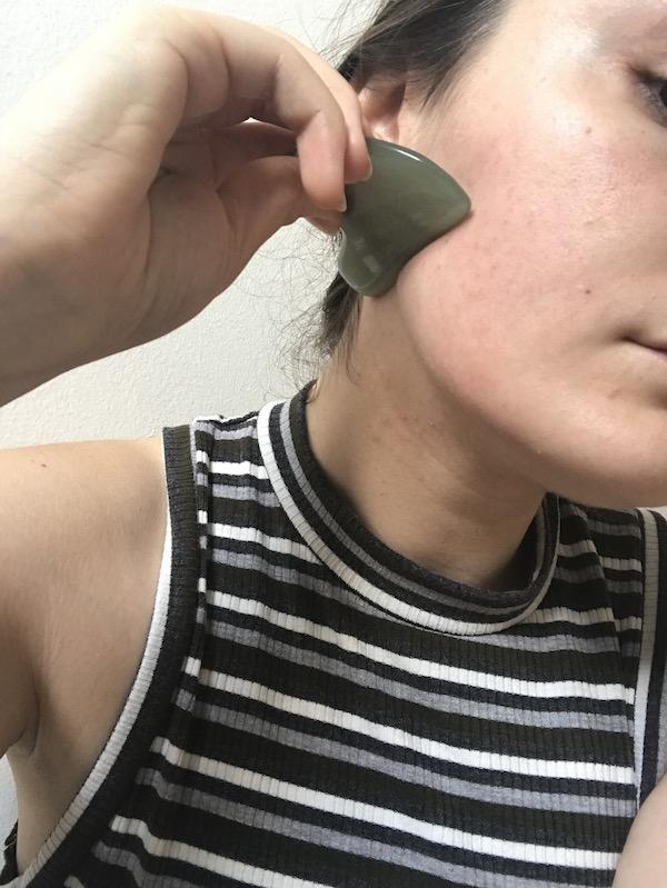 gua sha for acne