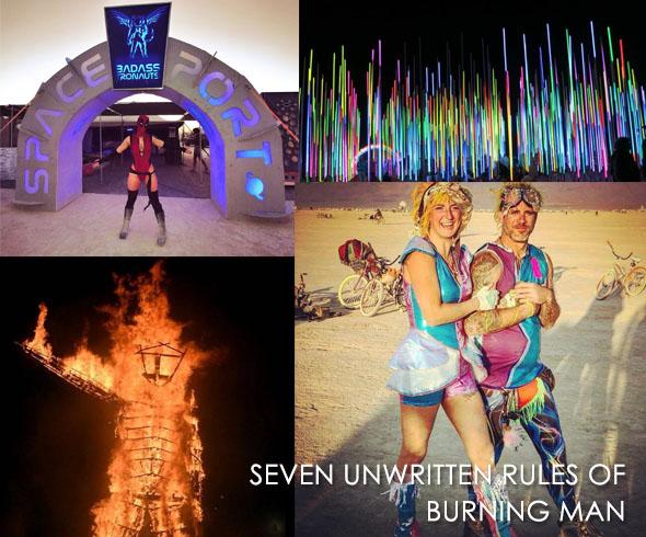 burning man rules