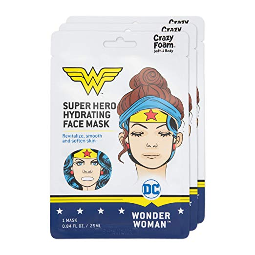 wonder woman face mask set