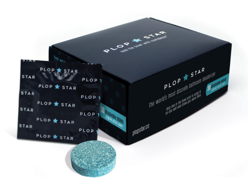 plop star toilet tablets