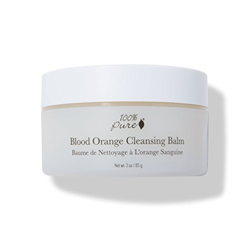100% pure cleansing balm with solid oils from coconut and avocado