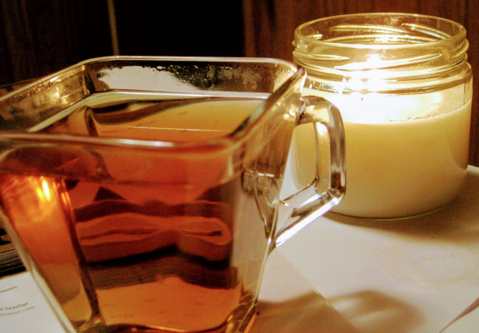 dandelion tea before bed