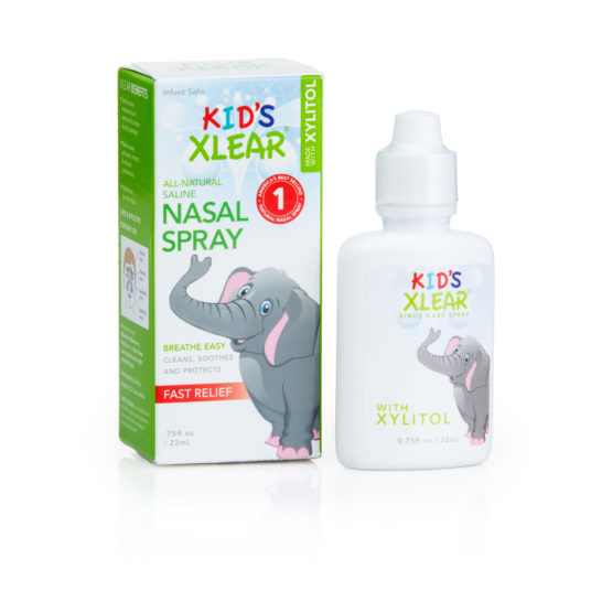 flu nasal spray for kids