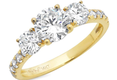tiny engagement rings